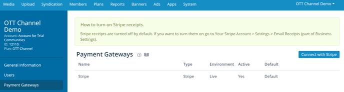 payment gateway list